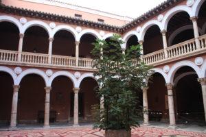Museo cittadino di Valladolid - cortile interno