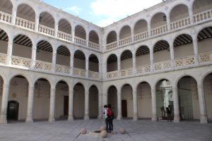 Palacio de Santa Cruz - cortile interno