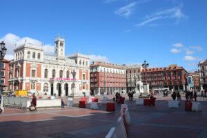 Panoramica di Plaza Mayor