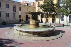 Fontana in Plaza Santa Ana