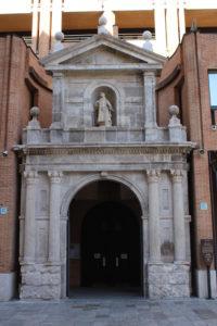 Ingresso dell'Iglesia di San Lorenzo