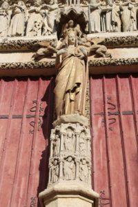 Cattedrale di Amiens - dettaglio dell'esterno