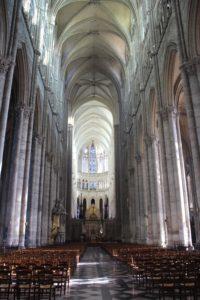 Cattedrale di Amiens - vista dall'ingresso