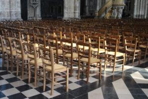 Cattedrale di Amiens - le sedie