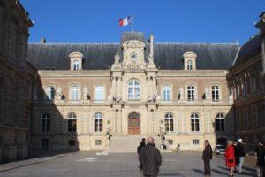 Scorcio del Municipio di Amiens