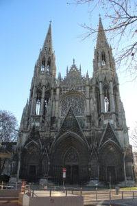 Abbatiale Saint-Ouen - facciata
