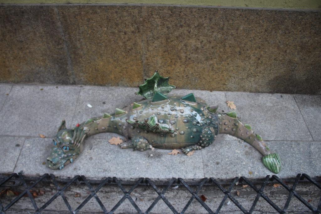 Il Drago di Ceramica