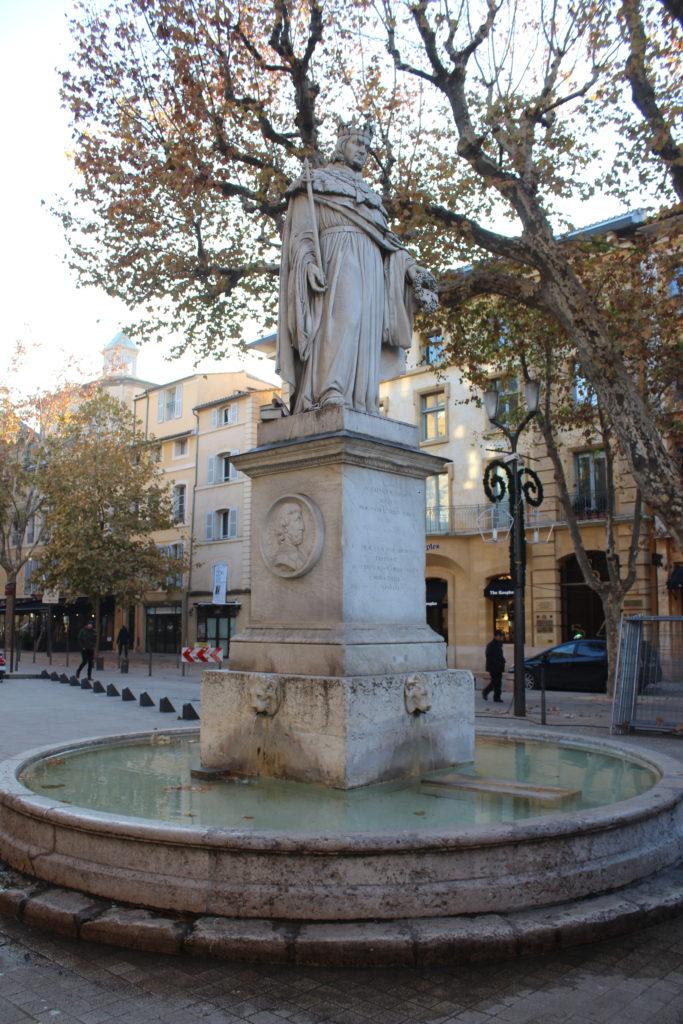 Fontaine du Roi Renè