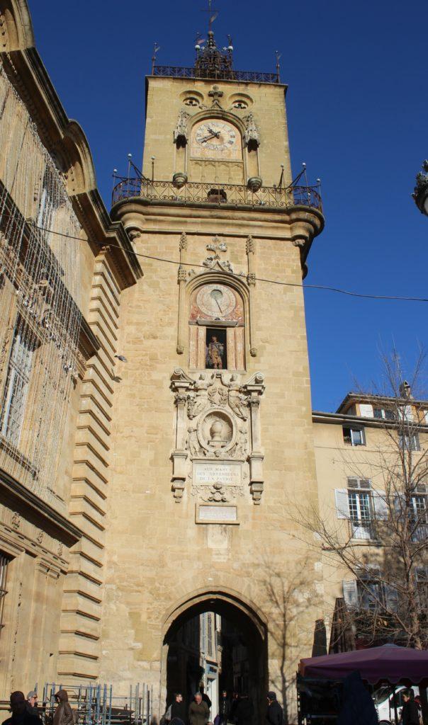 Dettaglio della Torre dell'Orologio