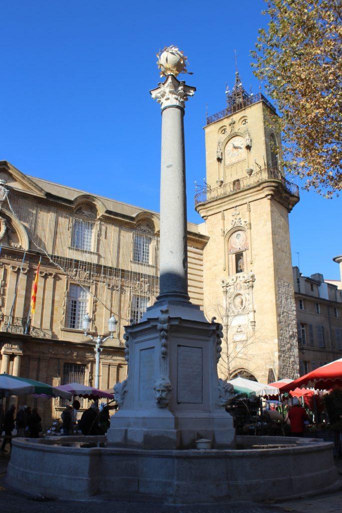 Fontaine de l'Hotel de Ville