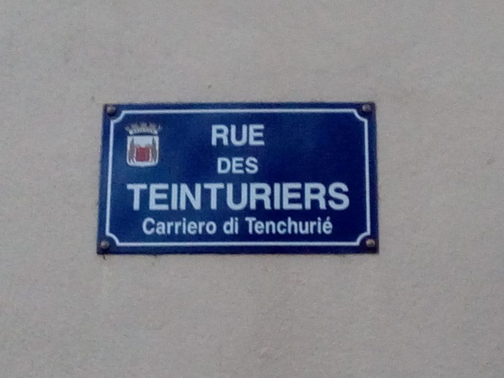 "Inizia ""Rue des Teinturiers"""