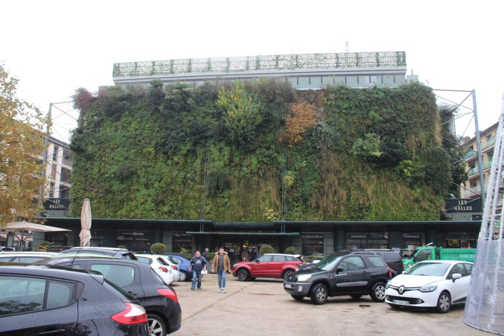 La parete vegetale a Place Pie