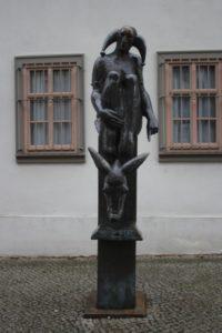 Eulenspiegel und Esel