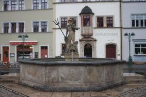 Fontana del Markt a Weimar
