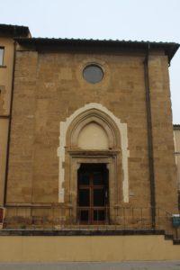 Dettaglio della Chiesa del Tau