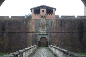 Fortezza di Santa Barbara - ingresso chiuso