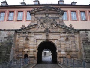 Ingresso della Zitadelle Petersberg