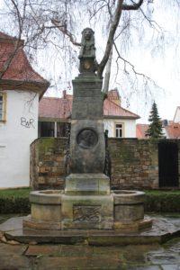 Monumento-Fontana a Gustav Adolf