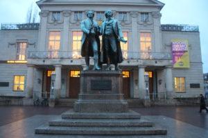 Monumento a Schiller e Goethe