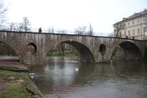 Ponte sul fiume Ilm