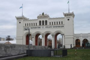 Vecchio ingresso della Sachsen-Bayerscher Banhof