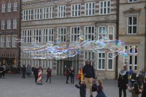 Le bolle di sapone enormi