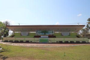 Old stadium - Tribuna ancora in piedi