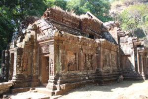 Wat Phou - Esterno del Santuario - 1