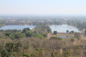 Wat Phou - I laghi dall'alto