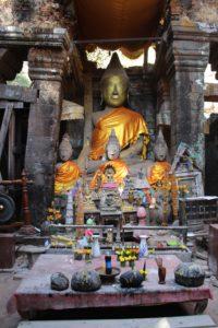 Wat Phou - Interno del Santuario