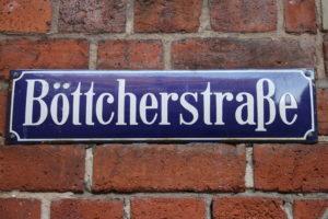 Bottcherstrasse - Mi trovo proprio qui