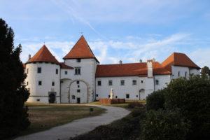 Castello di Varazdin - Vista Frontale