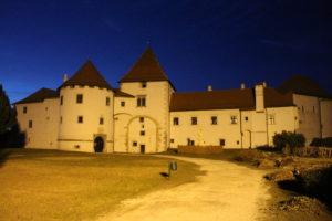 Castello di Varazdin di sera