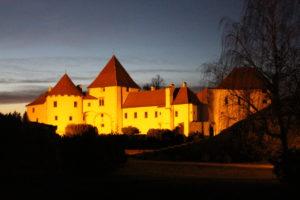 Castello di Varazdin visto dal ponte della Torre di Guardia
