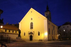 Chiesa Sv. Krstitelja di sera