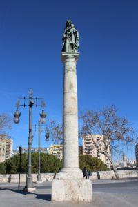 Colonna-Monumento alla Virgen del Carmen