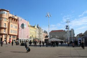 Colpo d'occhio di Piazza Josip Jelacic