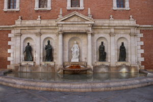 Fontana in Piazza del Patriarca