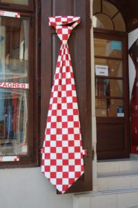 La mega-caravatta croata