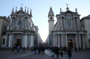 Le due Chiese affiancate di Piazza San Carlo