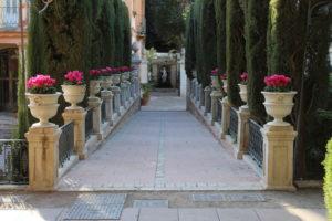 Scorcio dei Giardini di Monforte