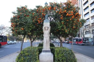 Simon Bolivar...tra gli agrumi