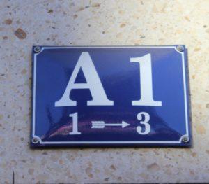 A1 del Mannheimer Quadrat