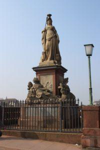 Alte Brucke - una delle sculture presenti