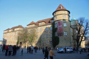 Alten Schloss lato Landesmuseum