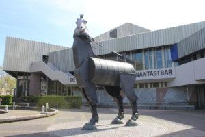 Baadisches Staatstheater - buffa scultura