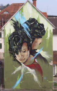 Dipinto Murale ad Heidelberg