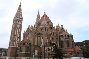 Duomo di Seghedino - Retro