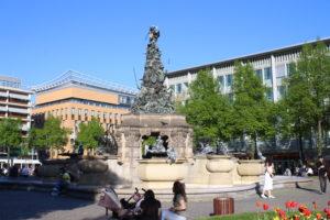 Fontana di Paradeplatz