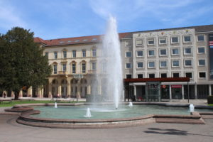 Fontana in Friedrichsplatz